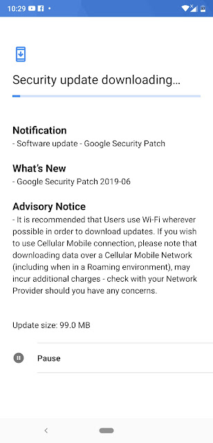 Nokia 8.1 receiving June 2019 Android Security update