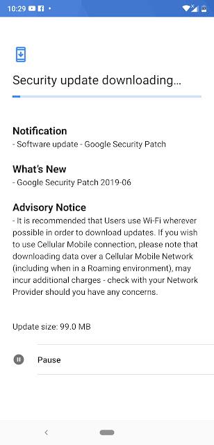 Nokia 8.1 receiving June 2019 Android Security update