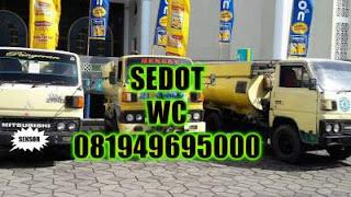 Sedot WC Karah Surabaya