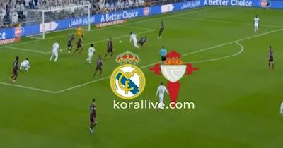 مباراة ريال مدريد وسيلتافيغو بث مباشر كورة لايف