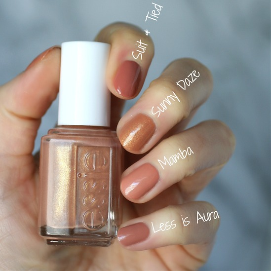 I Knew Essie Didnt Have A Polish This Color Full Of Gold Glitter But Couldnt Even Find One That Has Base Very Unique