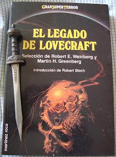 Portada del libro El legado de Lovecraft, de varios autores
