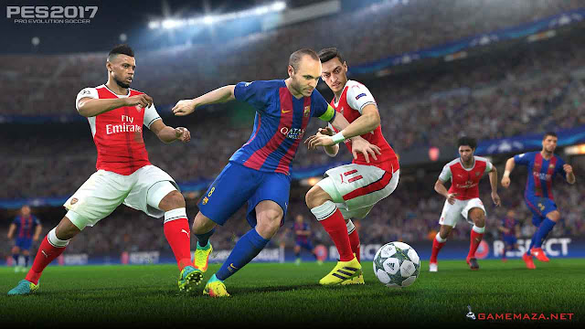 Pro Evolution Soccer (PES) 2017 Gameplay Screenshot 5