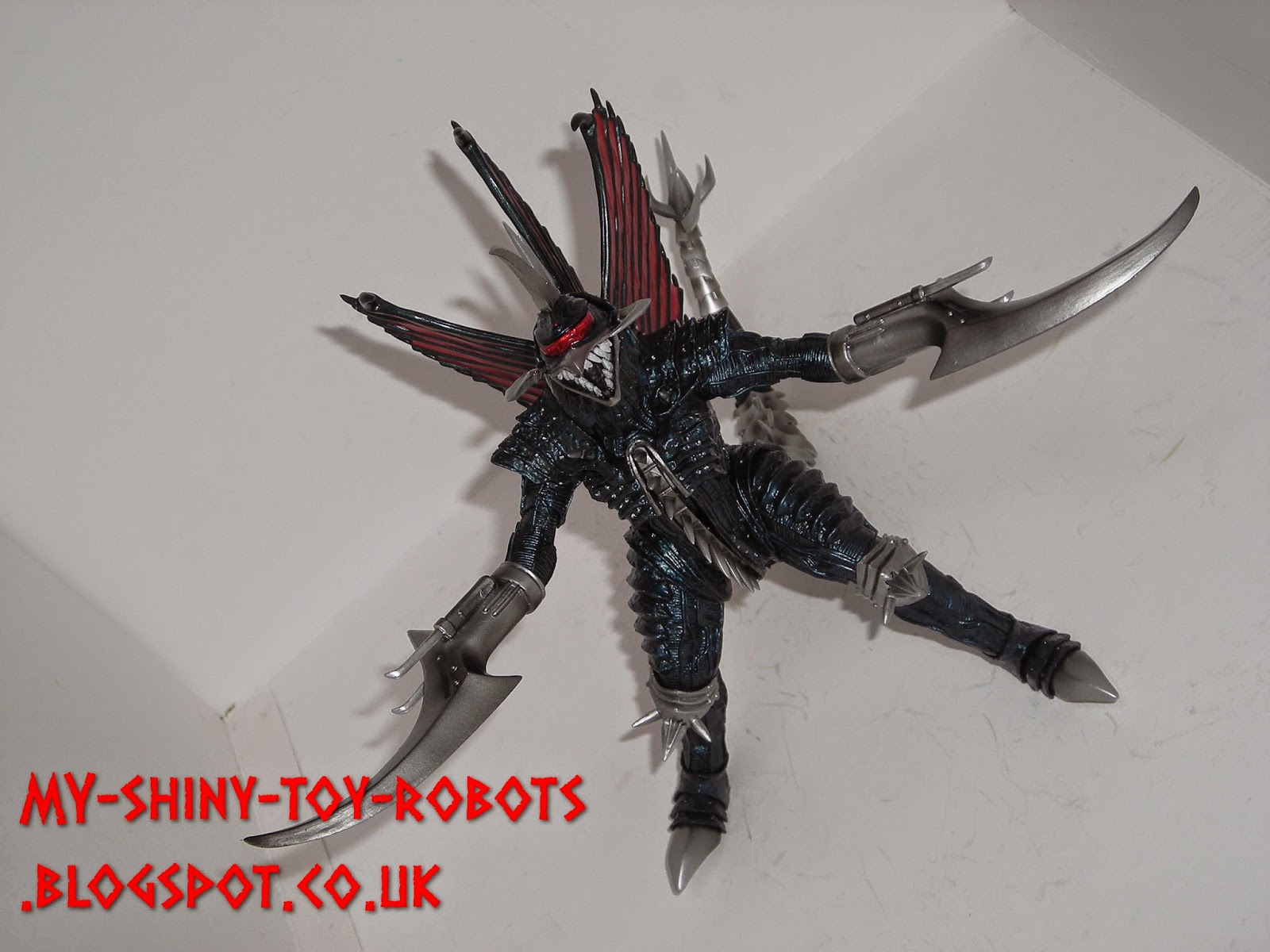 Gigan ready for battle