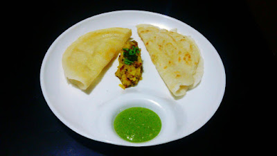 Pancake Masala Dosa Food Recipe