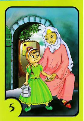 قصص اطفال - حكايات جدتي - ذات الرداء الأخضر بالعربية والإنجليزية PDF