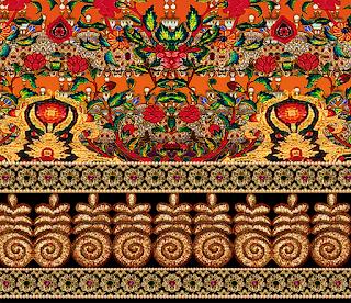 Jwellery-saree-border-for-textile-print