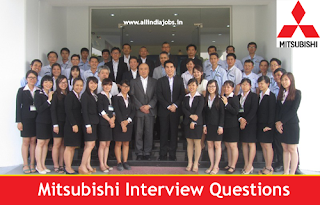 Mitsubishi Interview Questions