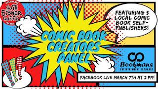Comic Book Creators Panel
