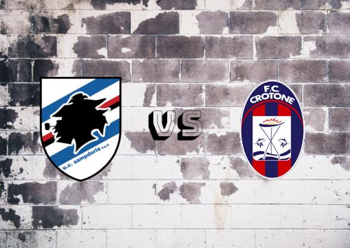 Sampdoria vs Crotone  Resumen