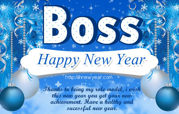 Boss Image Of New Year 2018