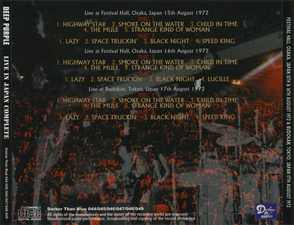 DEEP PURPLE - COMPACT DISC ANTHOLOGY, THE …