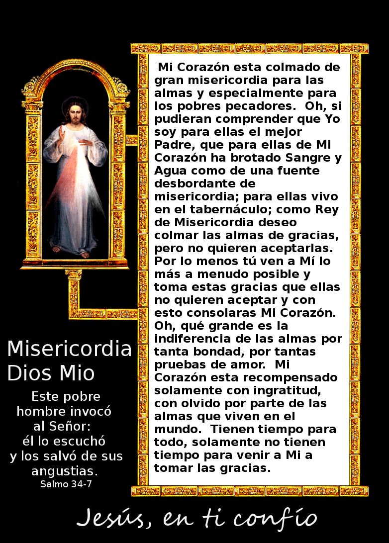 misericordia divina en fotos