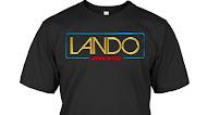 Star Wars Lando Logo T Shirt