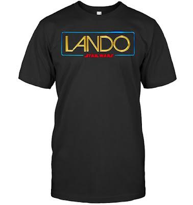 Star Wars Lando Logo T Shirts