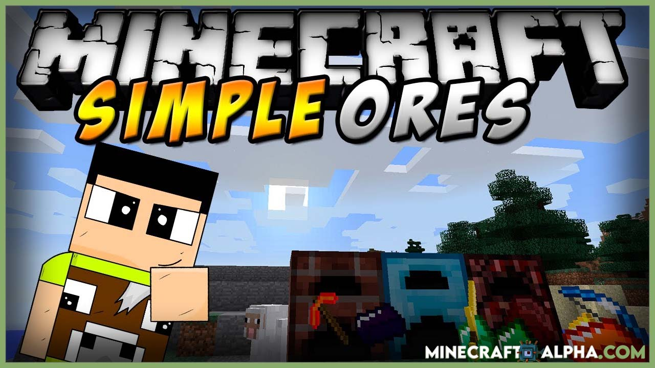 Minecraft SimpleOres Mod 1.17.1 (New Alloy Ingots and Items)