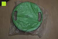 Tüte: Balance-Board »Gyro« / Der ideale Kreisel für Physiosport / Physiotherapie. Mit dem Wackelbrett trainiert bzw. stärkt man das Körpergleichgewicht & die Körper-Koordination. Auch einsetzbar als Therapiekreisel / Koordinations Board für Fitness und Spielspaß / Durchmesser ca. 40cm & Höhe ca. 10cm