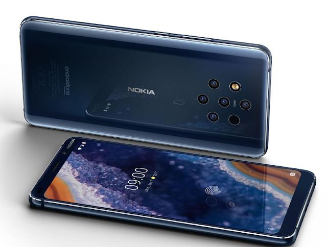 نوكيا تعلن رسميًا عن الهاتف Nokia 9 PureView مع خمس كاميرات خلفية