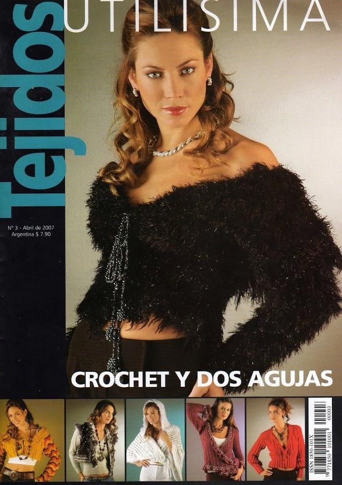 Tejidos Tricô Crochê N°3-Revista Tricô