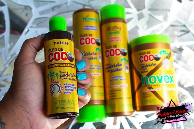 nova linha óleo de coco embelleze