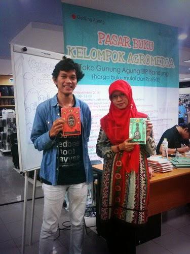 acara jumpa penulis di Bandung