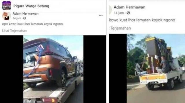 Viral Rombongan Pengantar Lamaran di Batang Bawa Lemari, Kasur, hingga Mobil untuk Pengantin Wanita