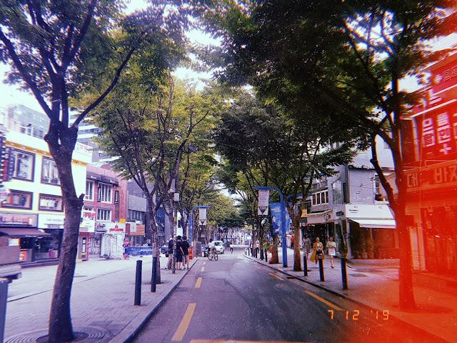 Hongdae Pedestrian Friendly Street