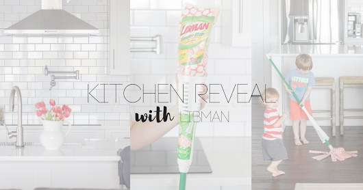 Kitchen Reveal with Libman Wonder Mop
