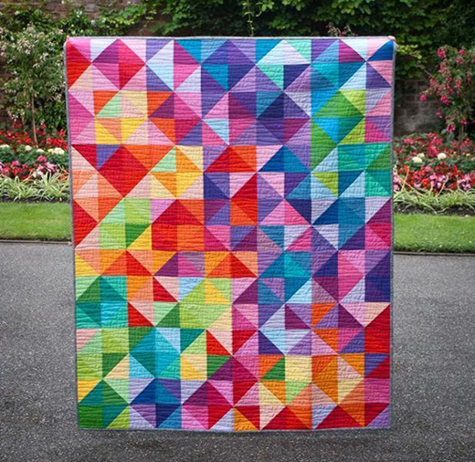 Postcard from Sweden Quilt Free Pattern