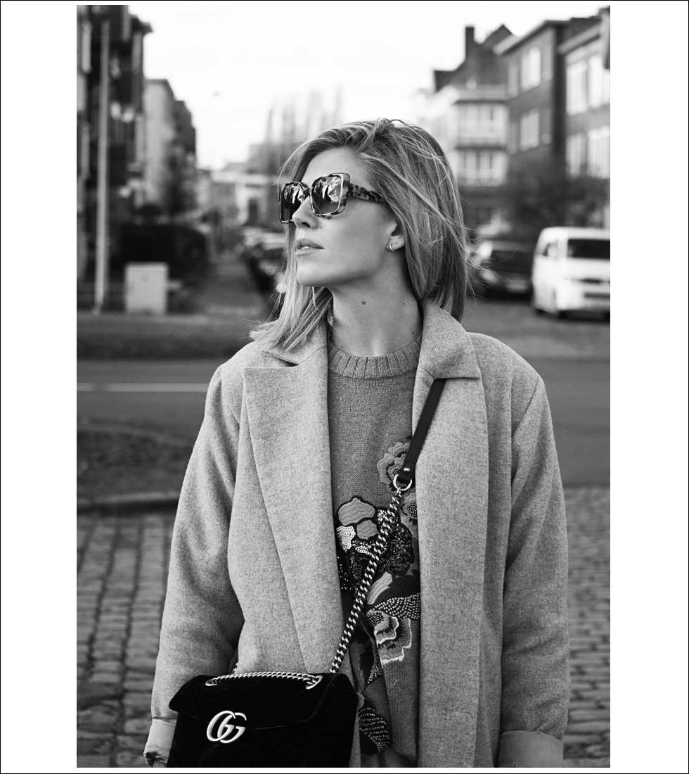 Outfit, Theo, Tim Van Steenbergen, Dewolf, Gucci, H&M, Zara, Outfit of the day, style, fashion, ootd, look, marmont bag, velvet