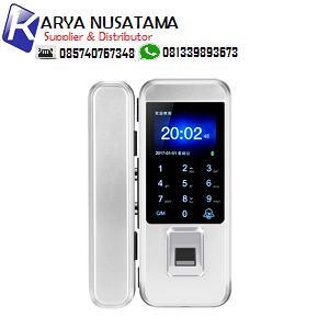 Jual Fingerprint  Glass Door Lock Pakai Password di Riau