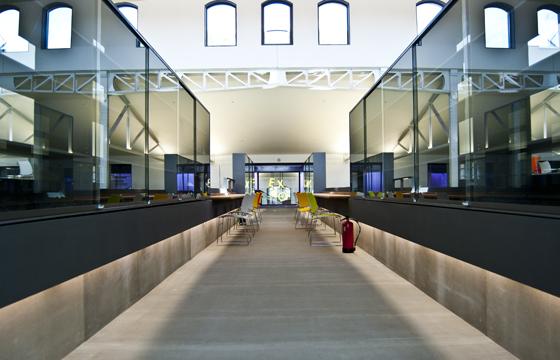 Abierta al público la Casa del lector en el Matadero de Madrid