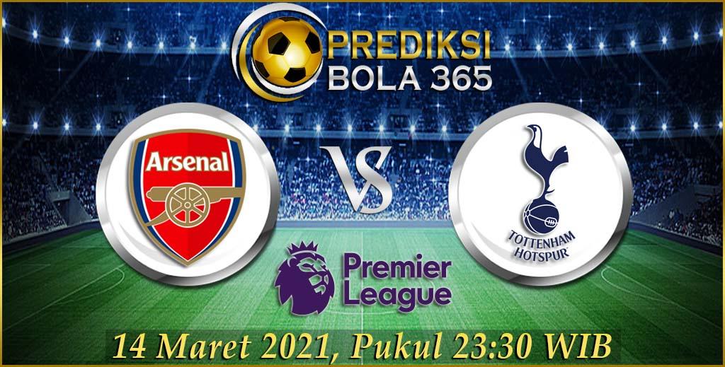 Prediksi bola Arsenal vs Tottenham Premier League 14 Maret 2021
