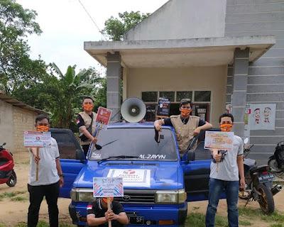 Panwaslu Kecamatan Labuhan Ratu Lamtim Patroli di Masa Tenang