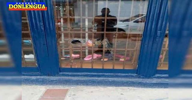 Varios delincuentes armados atracaron una zapatería en Machiques causando destrozos