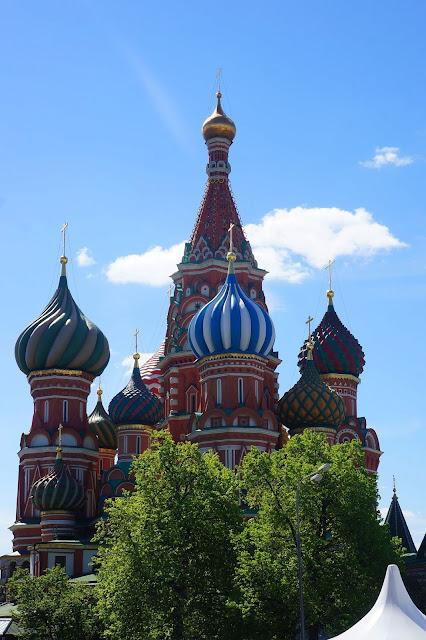 Изображение куполов Храма Василия Блаженного