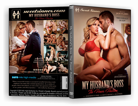 DVD My Husband's Boss - The Power Position xxx 2019 - ISO