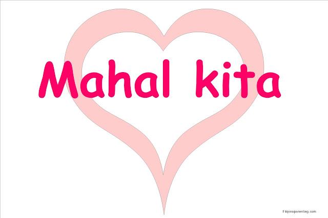 mahal kita i love you in tagalog