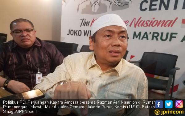 Kapitra Tuding Prabowo-Sandi Hanya Manfaatkan Umat Islam