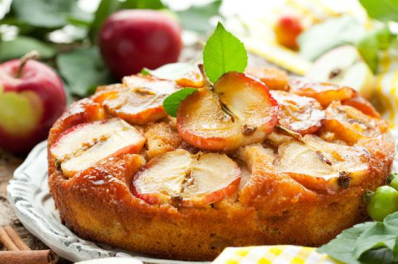 Tarta de manzana para diabéticos y celiacos