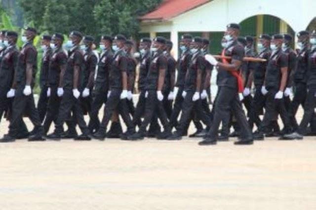 326 Recruits Pass out At Koforidua Training School June 2021