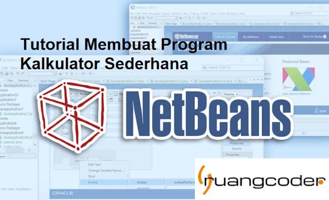 Membuat Kalkulator Sederhana di Java Netbeans