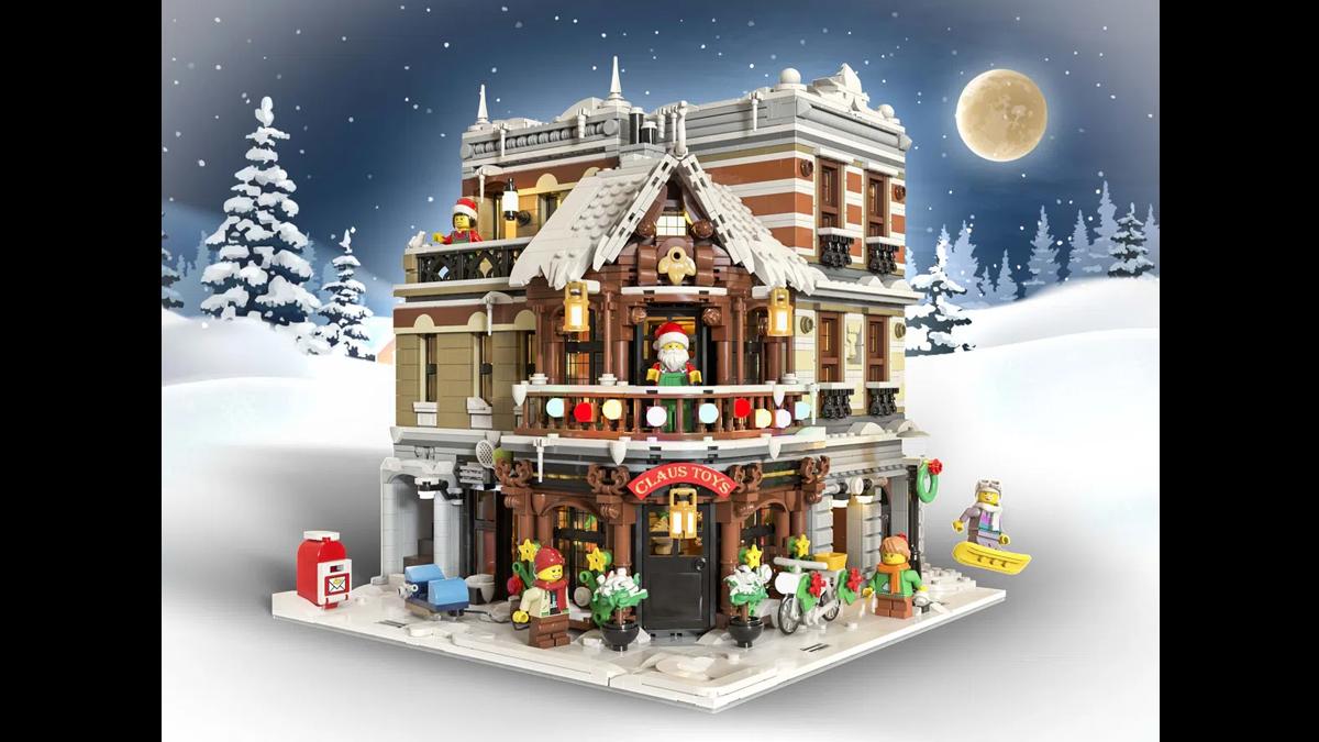 レゴアイデアで『サンタのおもちゃ屋』が製品化レビュー進出!2021年第1回1万サポート獲得デザイン紹介