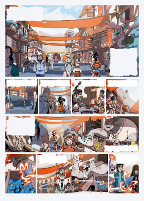 Review del manga Gryphoon de Luis Montes - Planeta