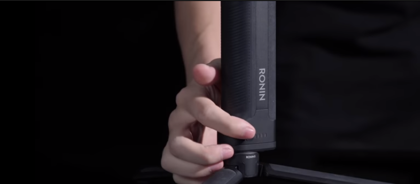 Activate the bottom of the DJI Ronin-S