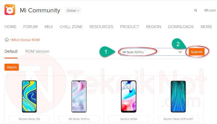 Xiaomi MIUI Rom İndirme