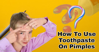 What Can Be The Results Of Applying Toothpaste On Pimples?