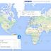 موقع Round للدردشة مع أشخاص من حول العالم على الخريطة