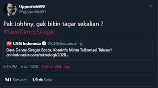 Garang Caaakkkkkk!!! Bukannya Takut, Opposite6890 Justru Meledek Menteri Jokowi