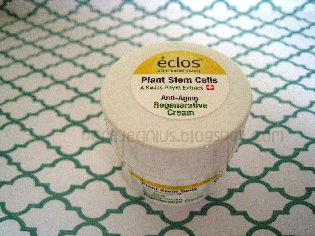 Eclos Plant Stem Cells Anti Aging Regenerative Cream And